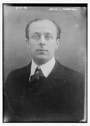 Homer Stille Cummings - Cummings in 1914