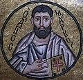 Hosios Loukas (narthex) - Ceiling, 2nd arch (S.Mark) 02.jpg