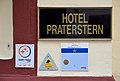 Hotel Praterstern, signs.jpg