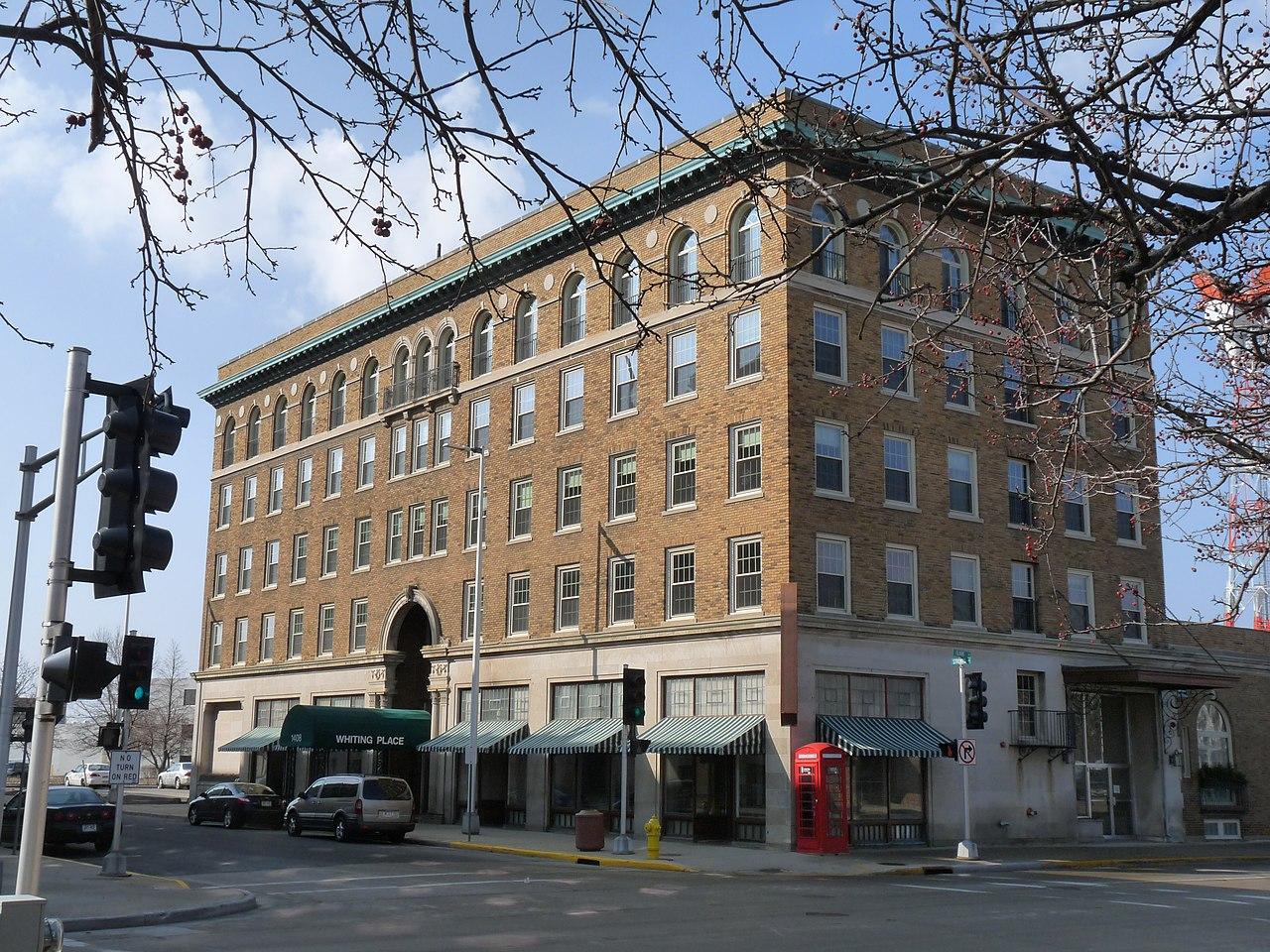 File Hotel Whiting Stevens Point Wisconsin Jpg