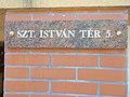 House number, 5 Szent István Square, 2017 Szolnok.jpg