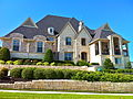 House on hill in Southlake.JPG