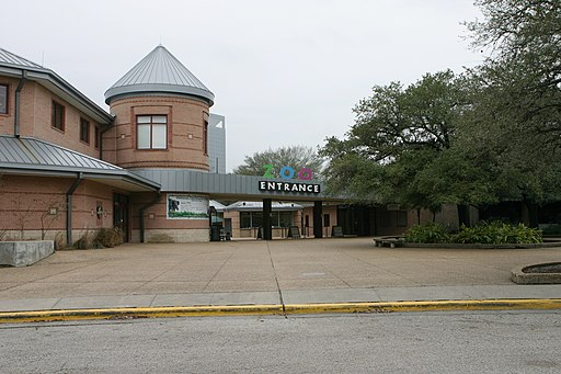 Houston Zoo entrance