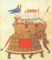 Howdah of the Golconda Sultanate, Qutb Shahi dynasty.png