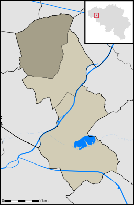 Location in the municipality