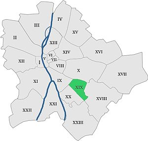 Kispest - Image: Hungary budapest district 19