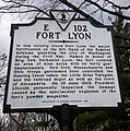 Huntington VA Fort Lyon Historical Marker.jpg