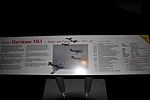 Hurricane Mk I P2617 information board RAF Museum London Flickr 2224463990.jpg