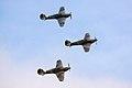 Hurricanes - Duxford Flying Legends July 2009 (3710803499).jpg