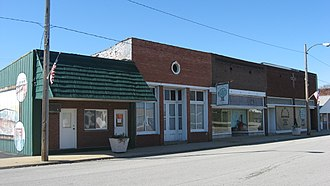 Hutsonville, Illinois - Downtown Hutsonville