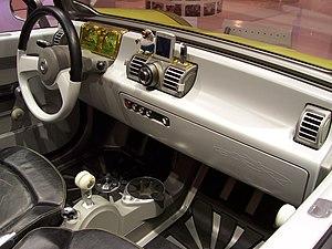 Smart Crosstown - Image: IAA2005 smart crosstown innenraum