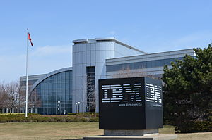 IBM Canada Head Office Building - IBM Canada Head Office Building at 3600 Steeles East
