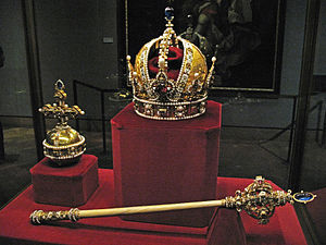 Imperial Crown, Scepter, and Globus Cruciger, ...