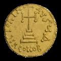 INC-2026-r Солид. Феодосий III Андрамитянин. Ок. 715—717 гг. (реверс).png