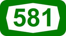 כביש 581