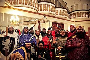 Israelite School of Universal Practical Knowledge - The ISUPK High Holy Day in Harlem, N.Y., Passover 2012.