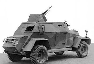 Humber Light Reconnaissance Car - Mk III.