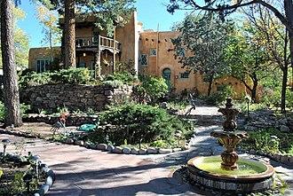 Witter Bynner - Witter Bynner House, Santa Fe