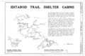 Iditarod Trail Shelter Cabins, Seward to Nome, Seward, Kenai Peninsula Borough, AK HABS AK,9-SEW,3- (sheet 1 of 1).png