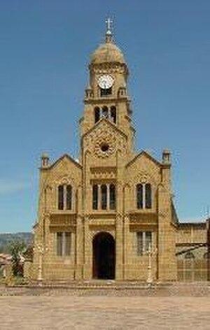 Sativasur - Image: Iglesia sativasur