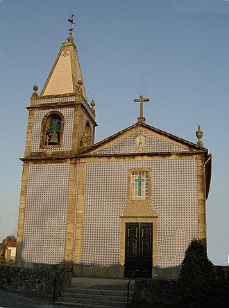 Merelim (São Paio), Panoias e Parada de Tibães - Image: Igreja de Panoias Braga