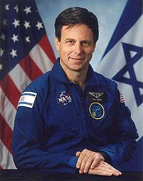 Payload specialist Ilan Ramon