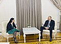 Ilham Aliyev received Romanian vice prime minister.jpg