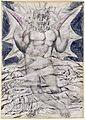 Illustrations to Dante's Divine Comedy, object 72 Butlin 812-69 recto Lucifer.jpg