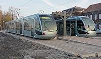 Inauguration de la branche vers Vieux-Condé de la ligne B du tramway de Valenciennes le 13 décembre 2013 (039).JPG