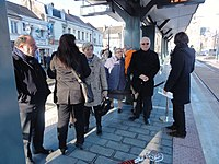 Inauguration de la branche vers Vieux-Condé de la ligne B du tramway de Valenciennes le 13 décembre 2013 (124).JPG
