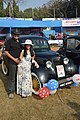 Indrajit Banerjee And Antara Banerjee With 1946 Renault Juvaquatre - 1003 cc - 4 cyl - WBC 8980 - Kolkata 2018-01-28 0842.JPG