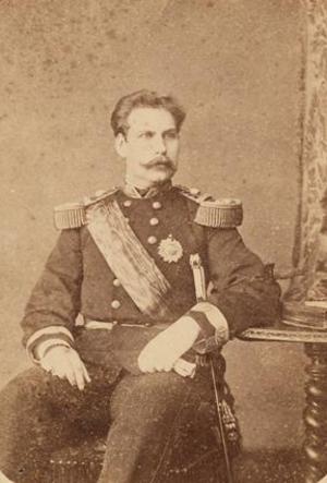 Infante Augusto, Duke of Coimbra - Image: Infante D. Augusto de Bragança (c. 1867 1877) C. da Rocha