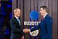 Informal meeting of economic and financial affairs ministers (ECOFIN). Handshake (37067984292).jpg