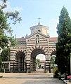 Ingresso del cimitero monumentale di Busto Arsizio dall'interno.JPG