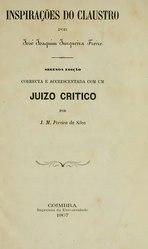 Junqueira Freire: Inspirações do Claustro