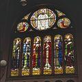 Interieur, overzicht apostelraam, glas-in-loodraam - Nijmegen - 20366220 - RCE.jpg