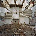 Interieur smederij, overzicht woonkamer met schouw, tijdens werkzaamheden - Alblasserdam - 20371694 - RCE.jpg