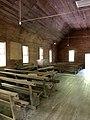Interior, Smokemont (Oconaluftee) Baptist Church, Great Smoky Mountains National Park, Smokemont, NC (49112763581).jpg