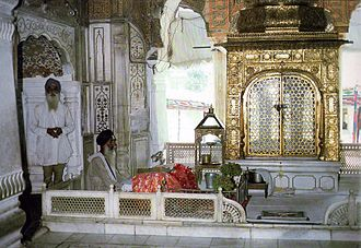 Sikhism - The interior of the Akal Takht