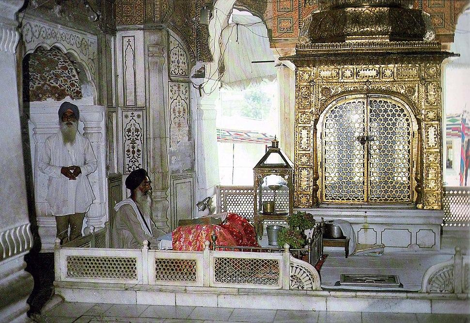 Interior of Akal Takht