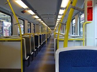 Siemens Modular Metro - Interior of the Melbourne Mo.Mo