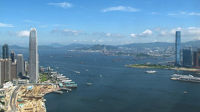 Victoria Harbour, image credit: WiNG via Wikipedia