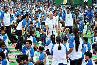 International Day of Yoga - International Day of Yoga 2016 in Chandigarh