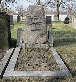Olivier Freiherr von Beaulieu-Marconnay - Grave of Oliver von Beaulieu Marconnay (1918) on the Invalidenfriedhof Berlin