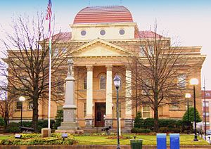 Iredell County Courthouse in Statesville