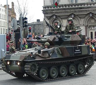 Light tank - FV101 Scorpion