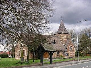 Irlam Human settlement in England