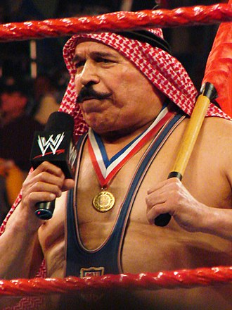 NWA Hall of Fame - Iron Sheik, inducted in 2008