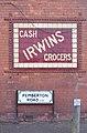 Irwin's sign, Pemberton Road 1.jpg