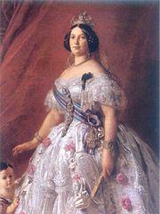 Rainha Izabel II da Espanha, 1852